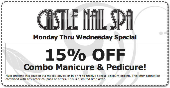 Castle Nail Spa Coupon