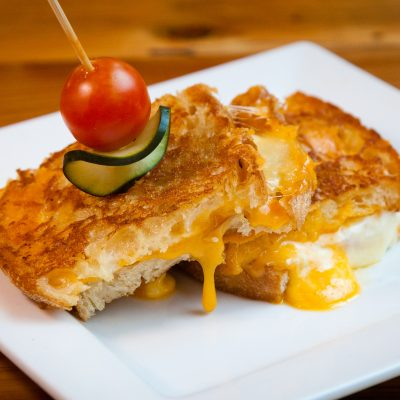 Dallas Grilled Cheese Co Rustic Sandwich