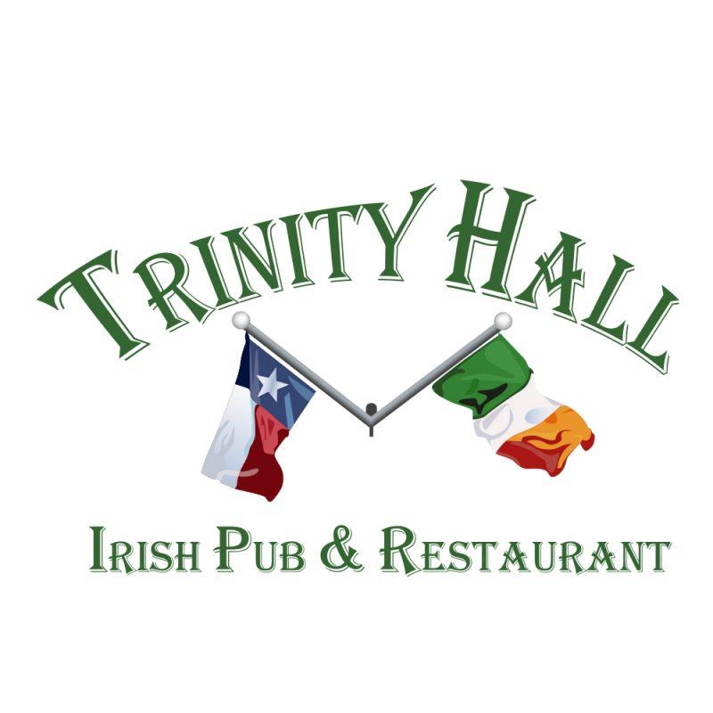 Trinity Hall Irish Pub Logo